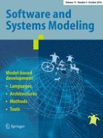 Software & Systems Modeling 4/2016