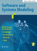Software & Systems Modeling 3/2017