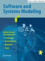 Software & Systems Modeling 1/2018