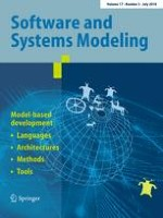 Software and Systems Modeling 3/2018