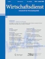 Wirtschaftsdienst 1/2020