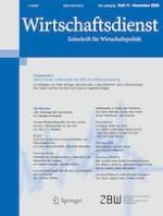 Wirtschaftsdienst 11/2020