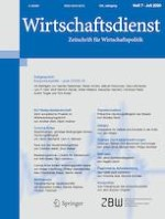 Wirtschaftsdienst 7/2020