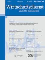 Wirtschaftsdienst 2/2021