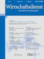 Wirtschaftsdienst 7/2021