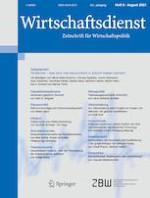 Wirtschaftsdienst 8/2021