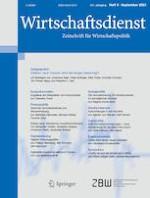 Wirtschaftsdienst 9/2021