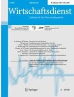 Wirtschaftsdienst 3/2009