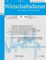 Wirtschaftsdienst 9/2009