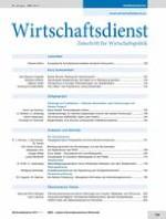 Wirtschaftsdienst 11/2011