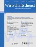 Wirtschaftsdienst 11/2013