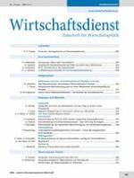 Wirtschaftsdienst 12/2013