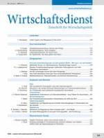 Wirtschaftsdienst 4/2013