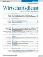 Wirtschaftsdienst 8/2013