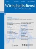 Wirtschaftsdienst 1/2014