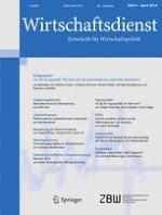 Wirtschaftsdienst 4/2014
