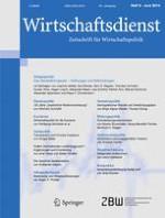 Wirtschaftsdienst 6/2014