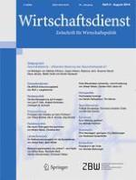 Wirtschaftsdienst 8/2014