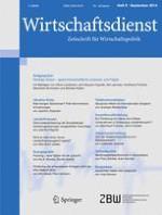 Wirtschaftsdienst 9/2014
