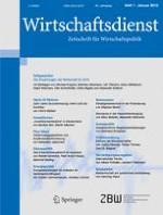 Wirtschaftsdienst 1/2015