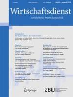 Wirtschaftsdienst 8/2015