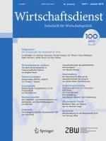 Wirtschaftsdienst 1/2016