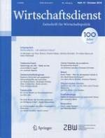 Wirtschaftsdienst 10/2016