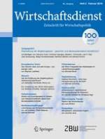 Wirtschaftsdienst 2/2016