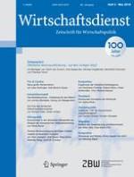 Wirtschaftsdienst 5/2016