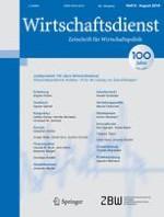 Wirtschaftsdienst 8/2016