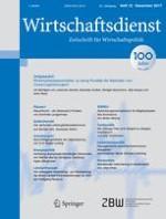 Wirtschaftsdienst 12/2017