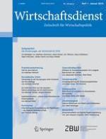 Wirtschaftsdienst 1/2018