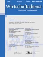 Wirtschaftsdienst 10/2018