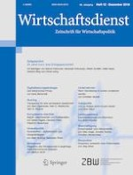 Wirtschaftsdienst 12/2018
