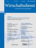 Wirtschaftsdienst 2/2018
