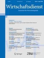 Wirtschaftsdienst 4/2018
