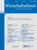 Wirtschaftsdienst 6/2018
