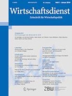 Wirtschaftsdienst 1/2019
