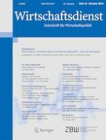 Wirtschaftsdienst 10/2019