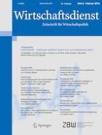 Wirtschaftsdienst 2/2019