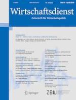 Wirtschaftsdienst 4/2019
