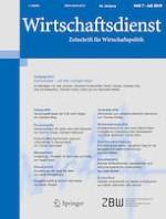 Wirtschaftsdienst 7/2019