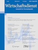 Wirtschaftsdienst 8/2019