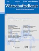Wirtschaftsdienst 9/2019