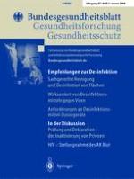 Bundesgesundheitsblatt - Gesundheitsforschung - Gesundheitsschutz 1/2004