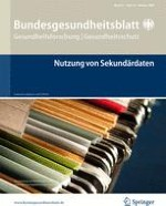 Bundesgesundheitsblatt - Gesundheitsforschung - Gesundheitsschutz 10/2008