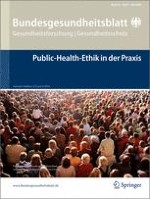 Bundesgesundheitsblatt - Gesundheitsforschung - Gesundheitsschutz 5/2009