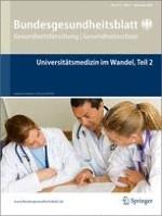 Bundesgesundheitsblatt - Gesundheitsforschung - Gesundheitsschutz 9/2009