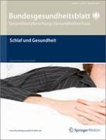 Bundesgesundheitsblatt - Gesundheitsforschung - Gesundheitsschutz 12/2011