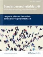 Bundesgesundheitsblatt - Gesundheitsforschung - Gesundheitsschutz 6-7/2012